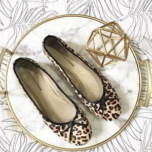 🍎Adrienne Vittadini • Leopard Ballet Flats
